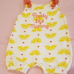"Koala baby ""pretty like mommy"" romper"